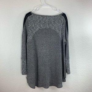 Soft Surroundings Tops - Soft Surrounding Waffle Knit Long Sleeve Top